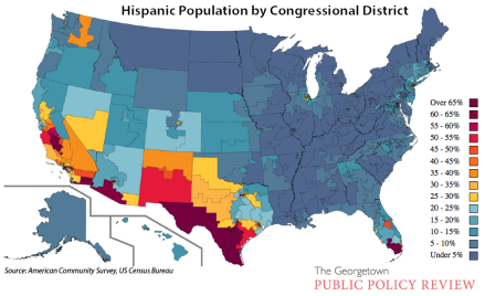Hispanic Population Map